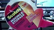 SCOTCH MOVING AND STORAGE PACKAGING TAPE